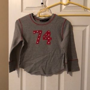 💕DKNY long sleeve thermal top size large💞